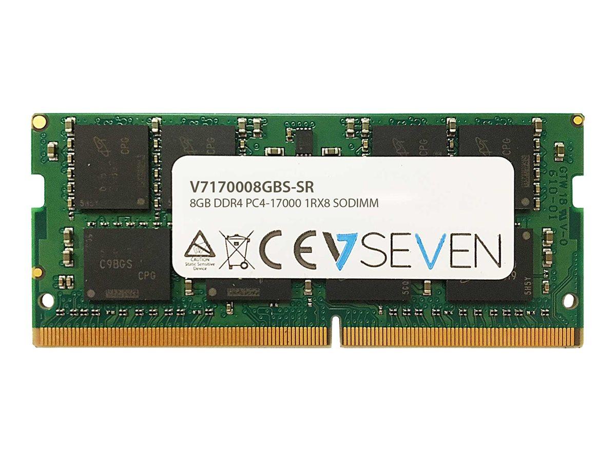 V7 8GB DDR4 2133MHZ CL15 NON ECC