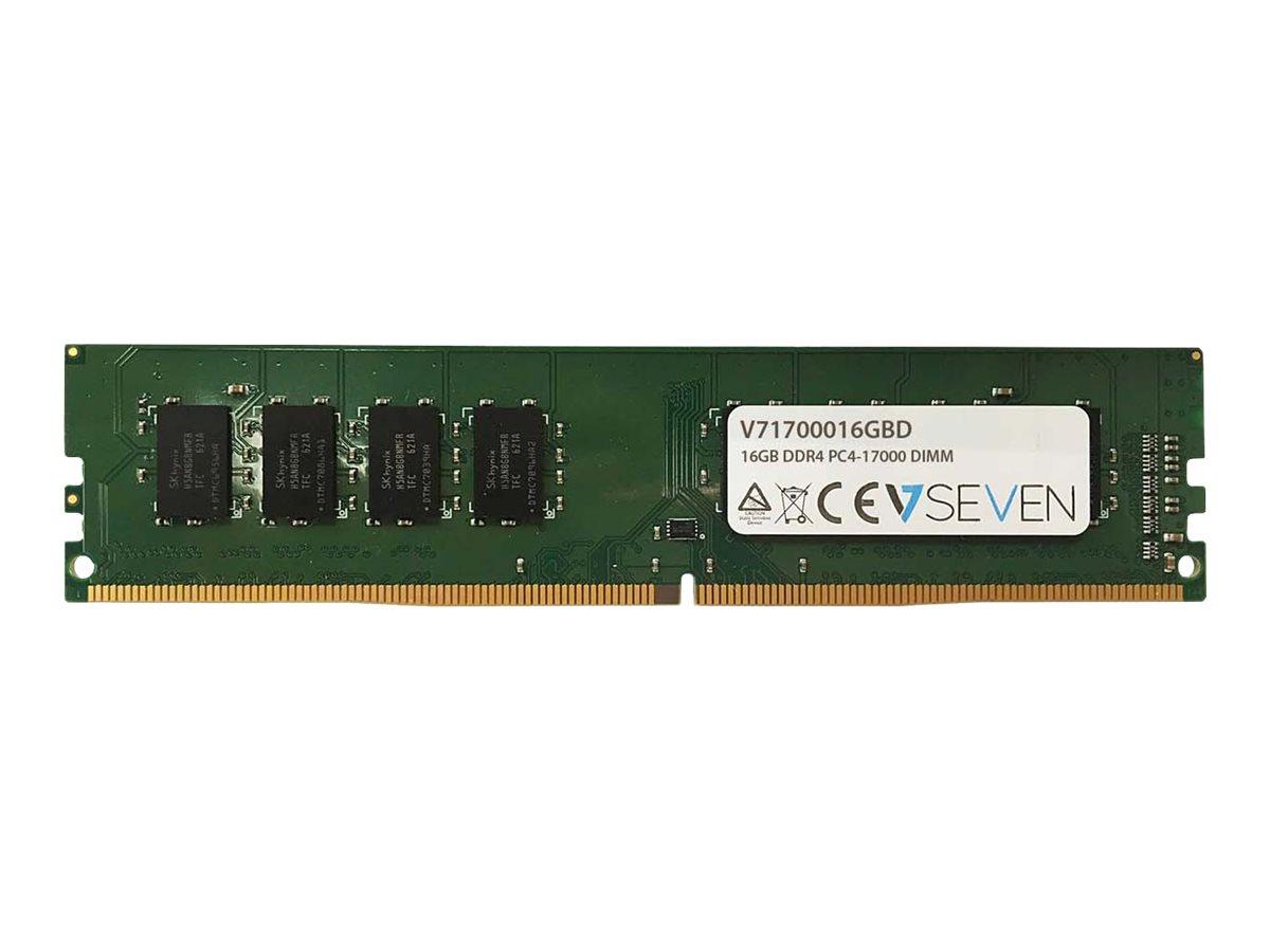 V7 16GB DDR4 2133MHZ CL15 NON ECC