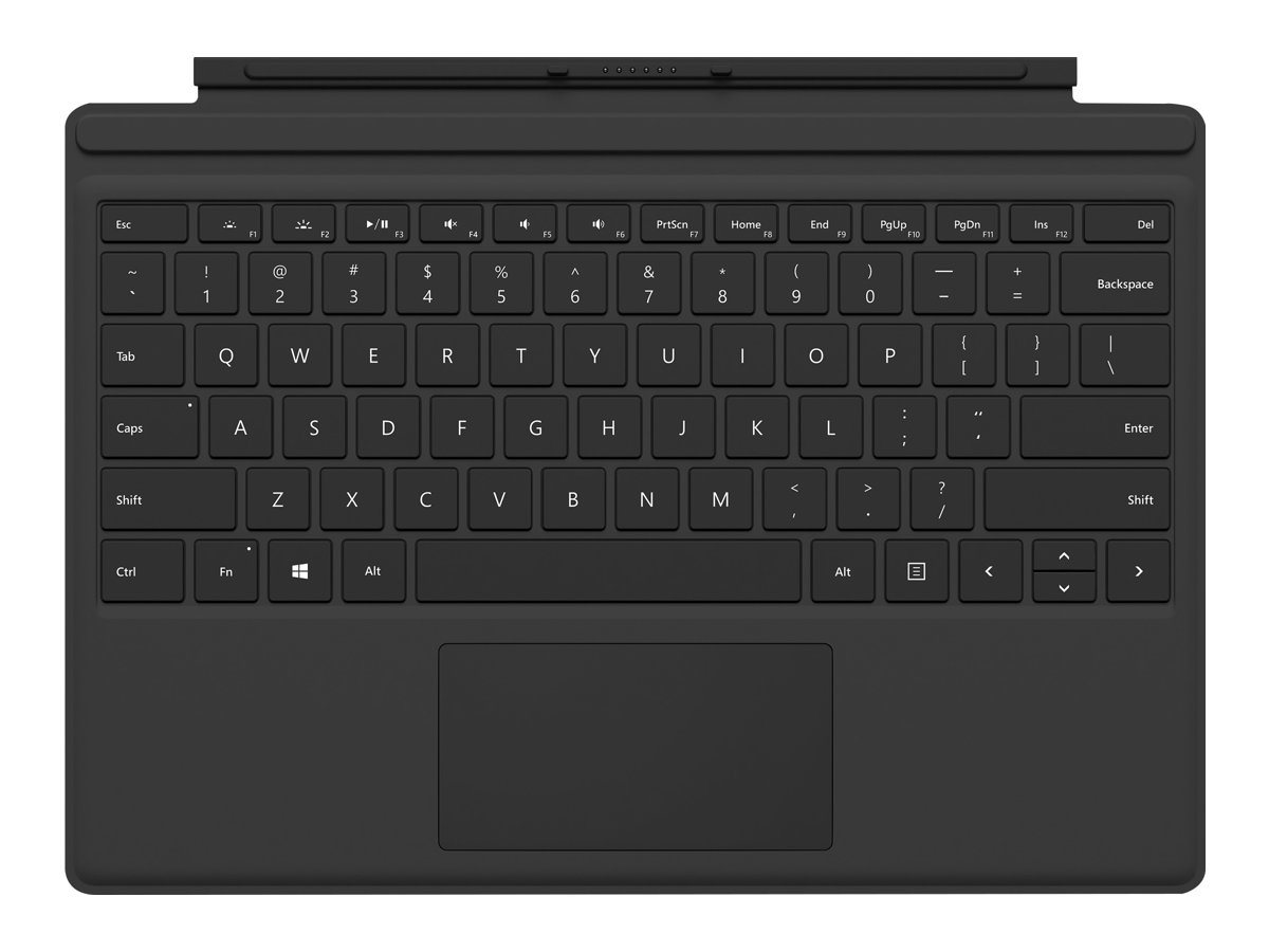 Microsoft SURFACE PRO TYPE COVER NORDIC - Black