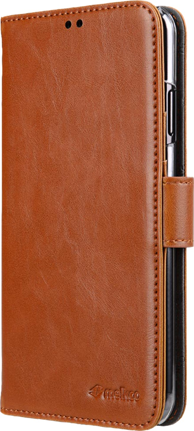 Melkco Walletcase Samsung Galaxy S10 Brown