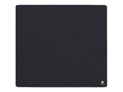 Deltaco GAMING Mousepad XL, 45x40cm, tvättbart tyg, svart