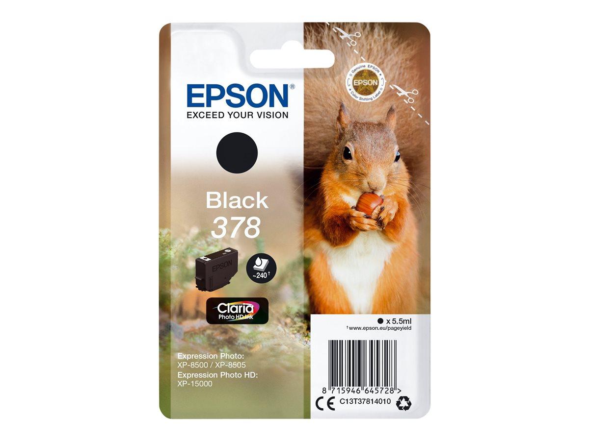 Epson SINGLEPACK BLACK 378
