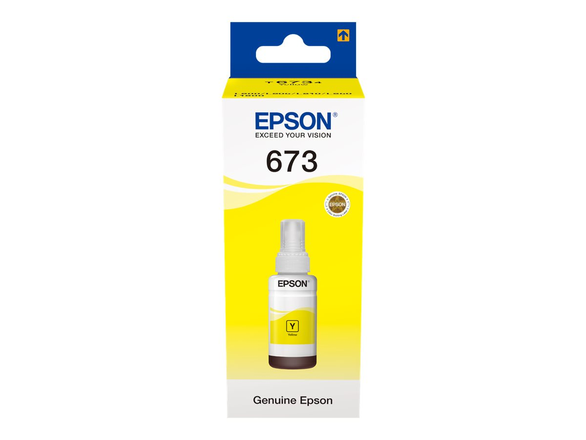 Epson T6734 YELLOW INK BOTTLE