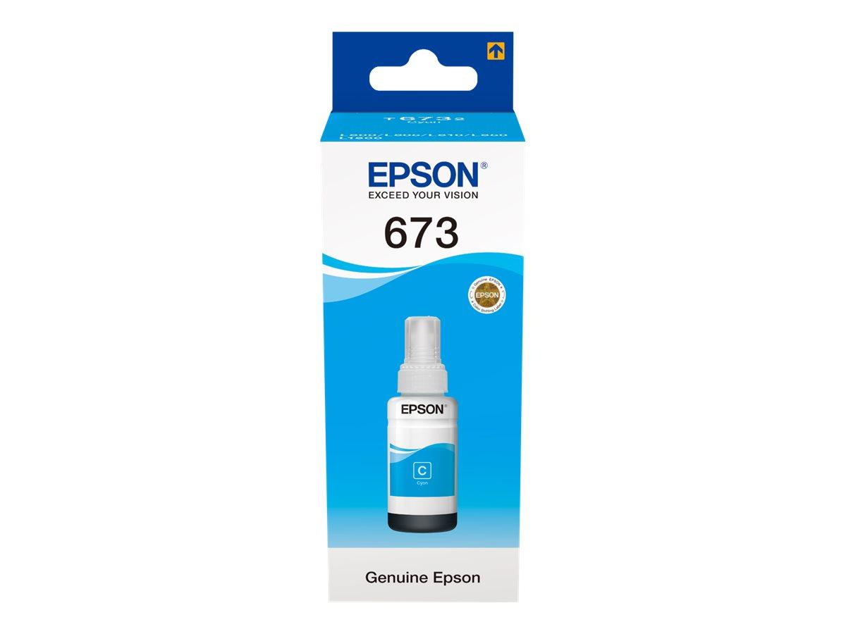 Epson T6732 CYAN INK BOTTLE 70ML