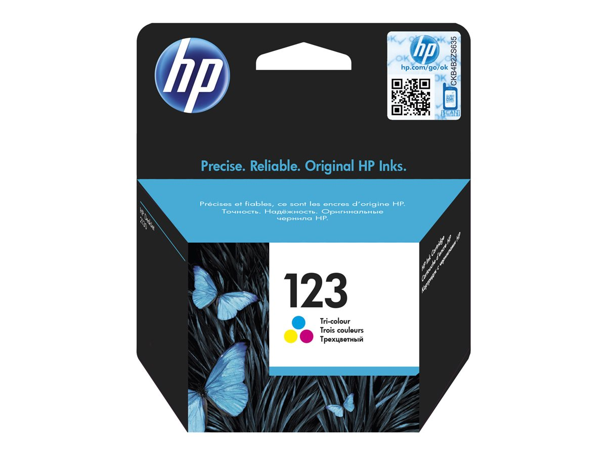 HP INK CARTRIDGE NO 123 C/M/Y