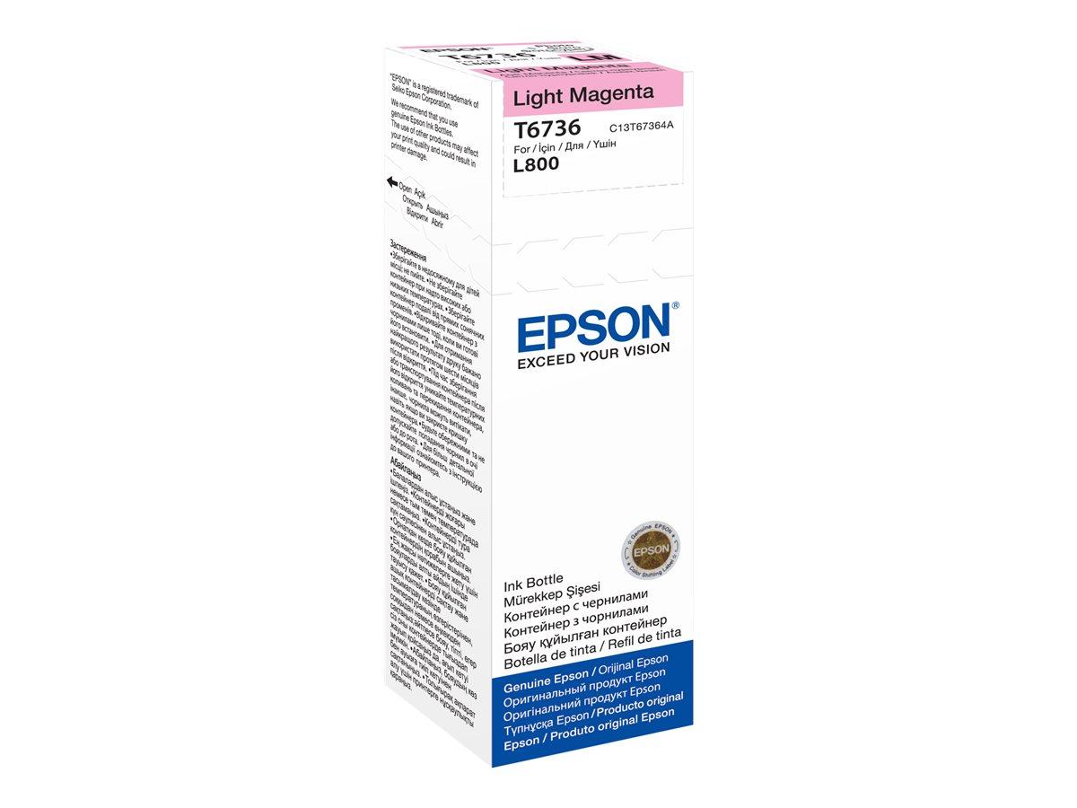 Epson T6736 LIGHT MAGENTA INK BOTTLE
