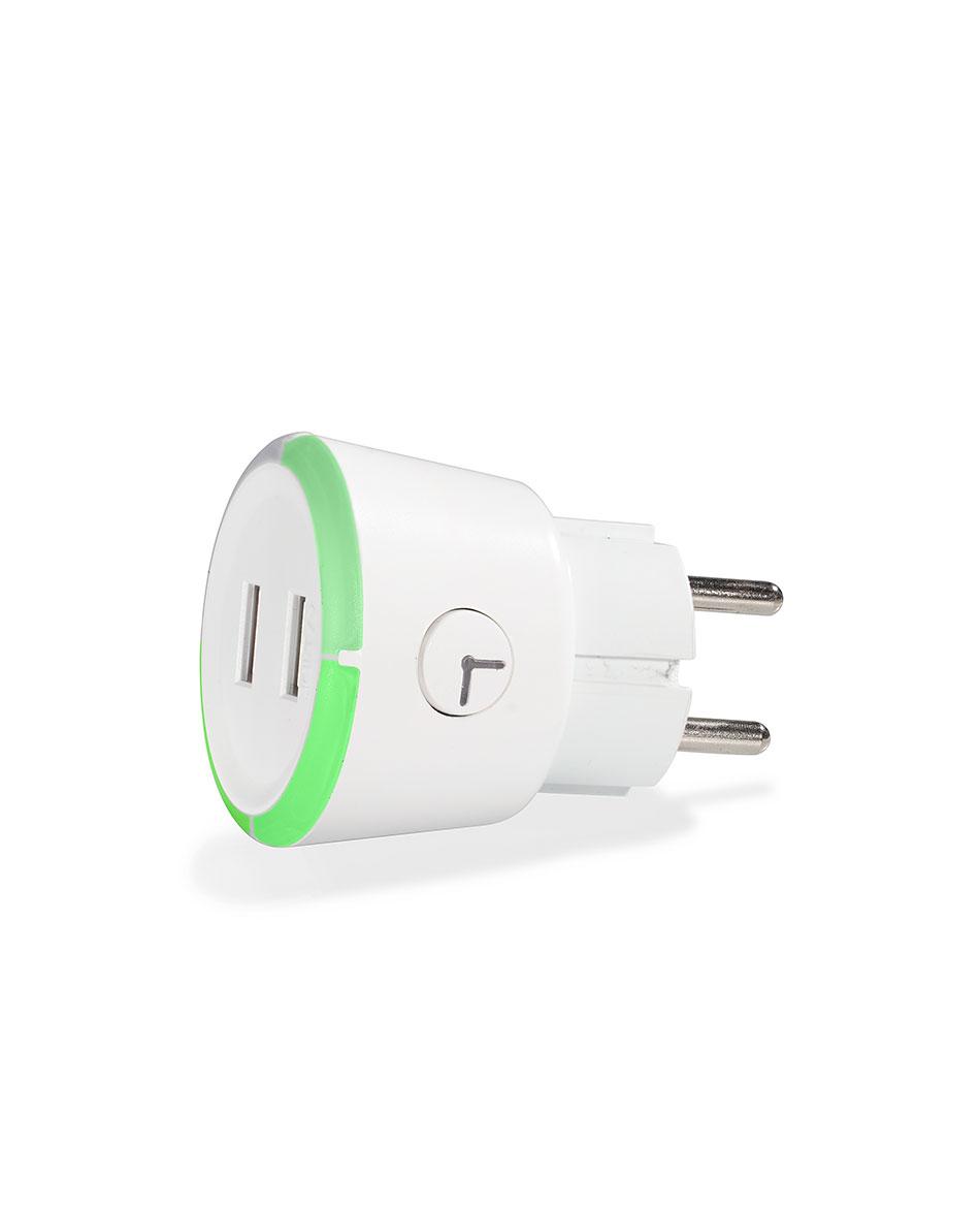 CAPIDI Rund säkerhetstimer m USB 3.4A