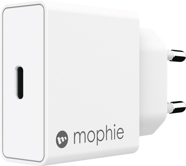 Mophie Wall Adapter Usb-C 18W, Eu, White