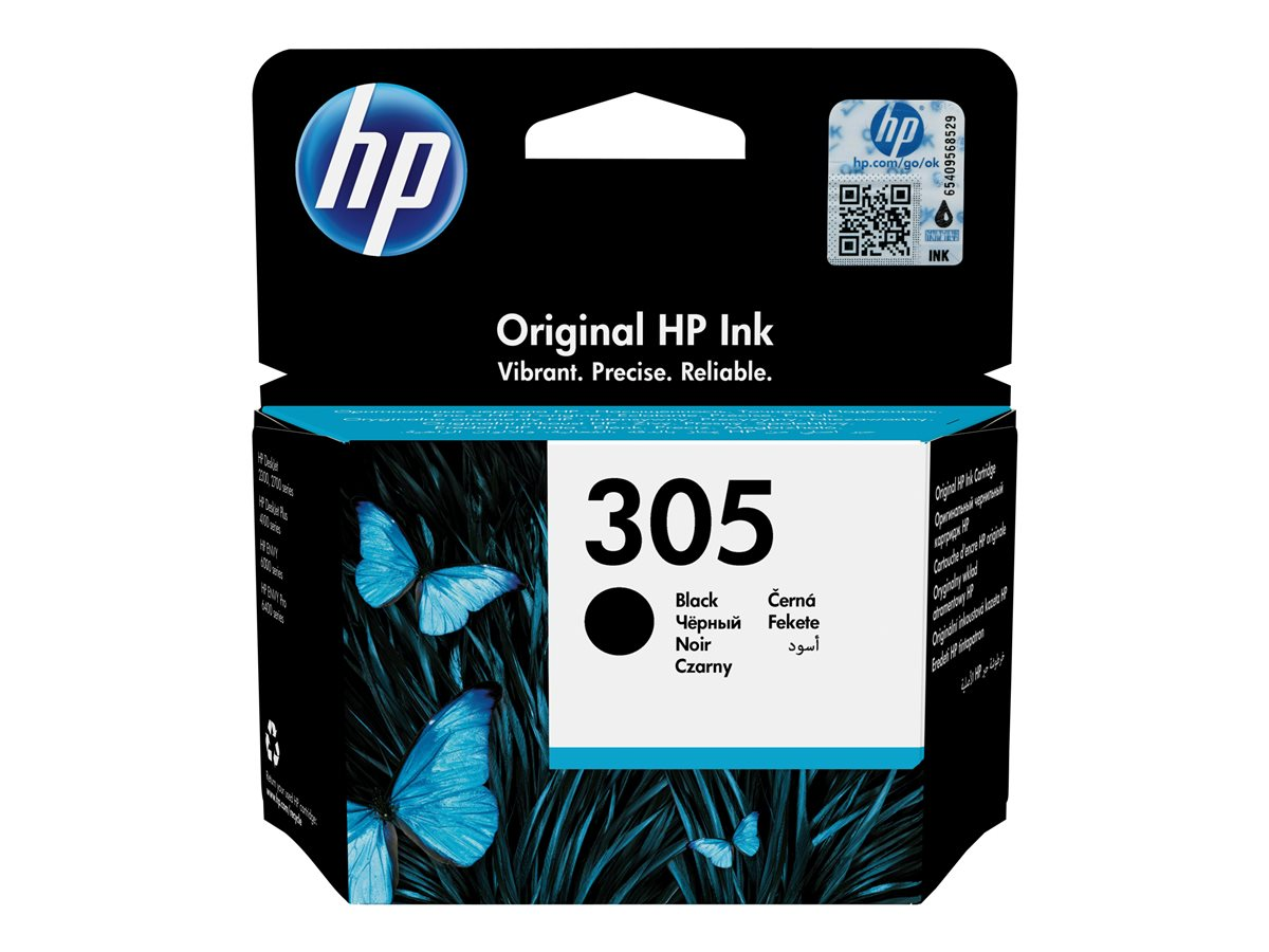HP HP 305 BLACK ORG. INK CARTR