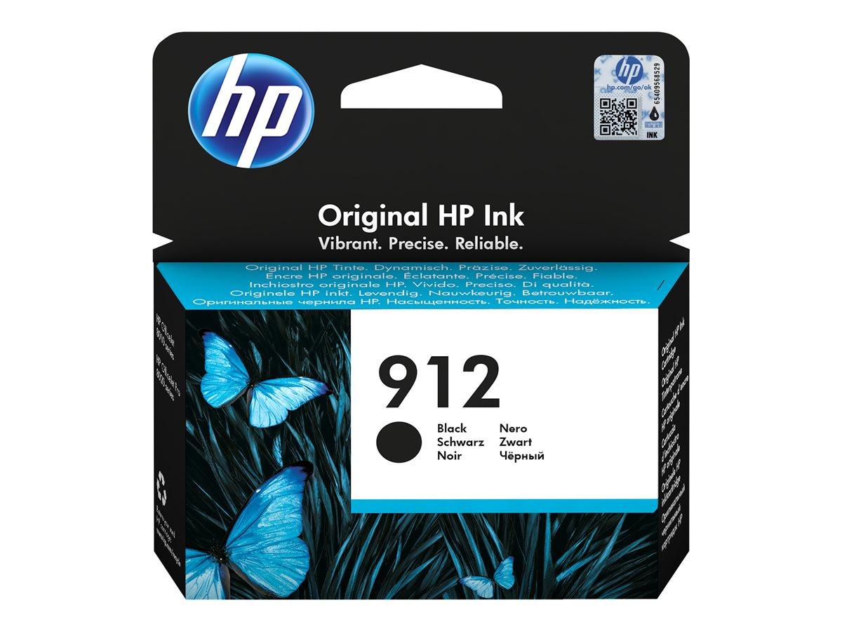 HP INK CARTRIDGE 912 BLACK