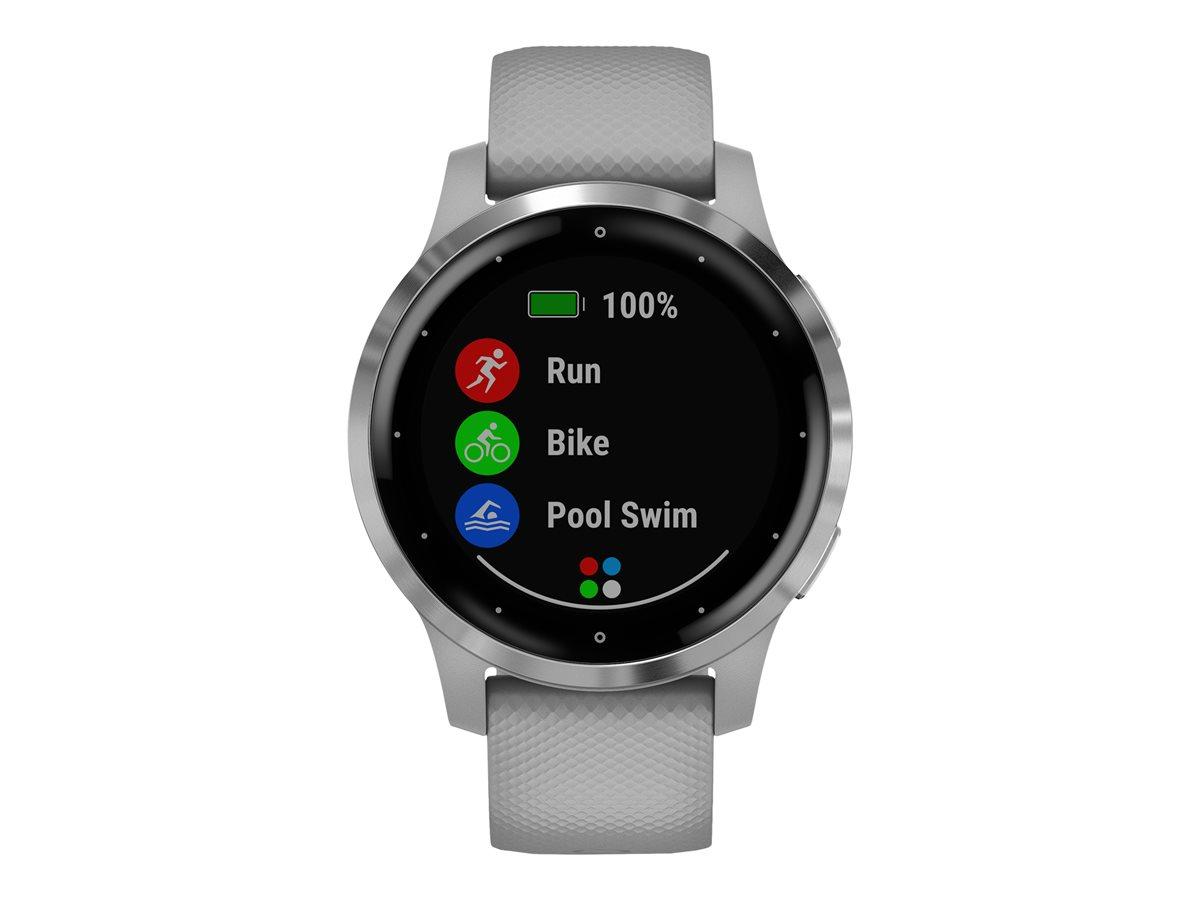 Garmin Vivoactive 4S GPS Watch Powder gray/Silver
