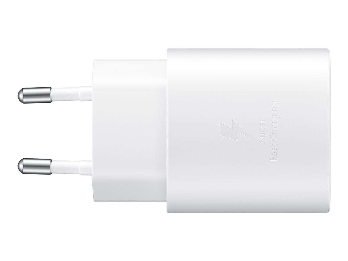 Samsung Travel Adapter 25W Without Cable EP-TA800 White