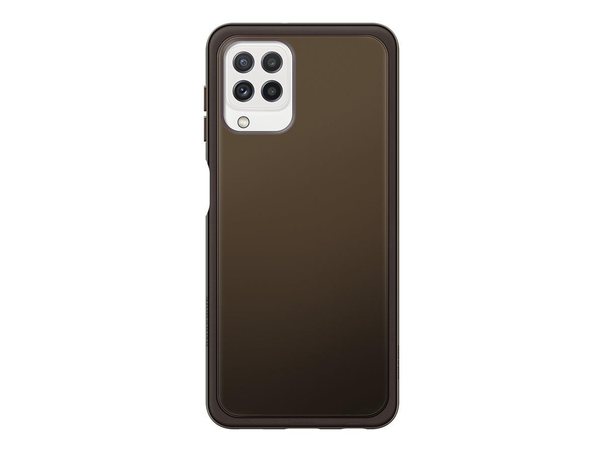 Samsung Soft Clear Cover Galaxy A22 LTE Black